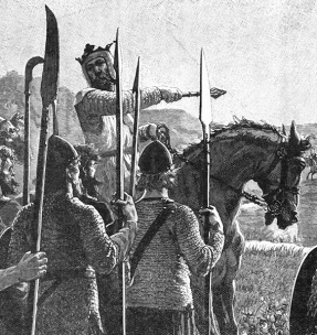 Battle-of-Bannockburn-Bruce-Addresses-troops-2