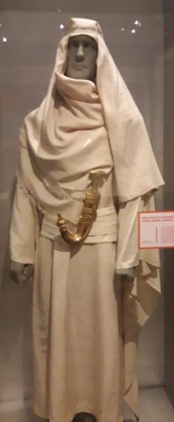 Lawrence d'Arabie tenue