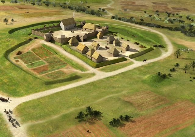 habitat de paule au III siècle.jpg