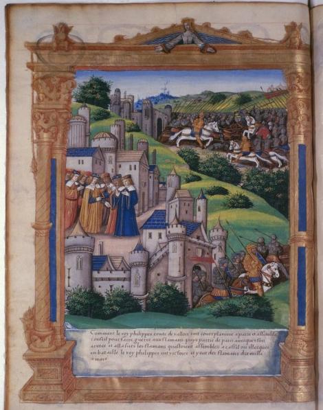 Philippe VI et son armée