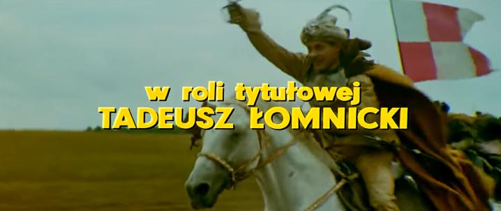 2-Le générique de Pan Wolodyjowski
