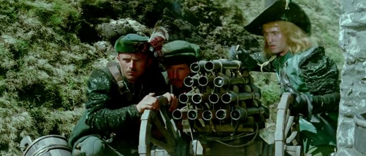 7-Ketling et son canon à gueules multiples
